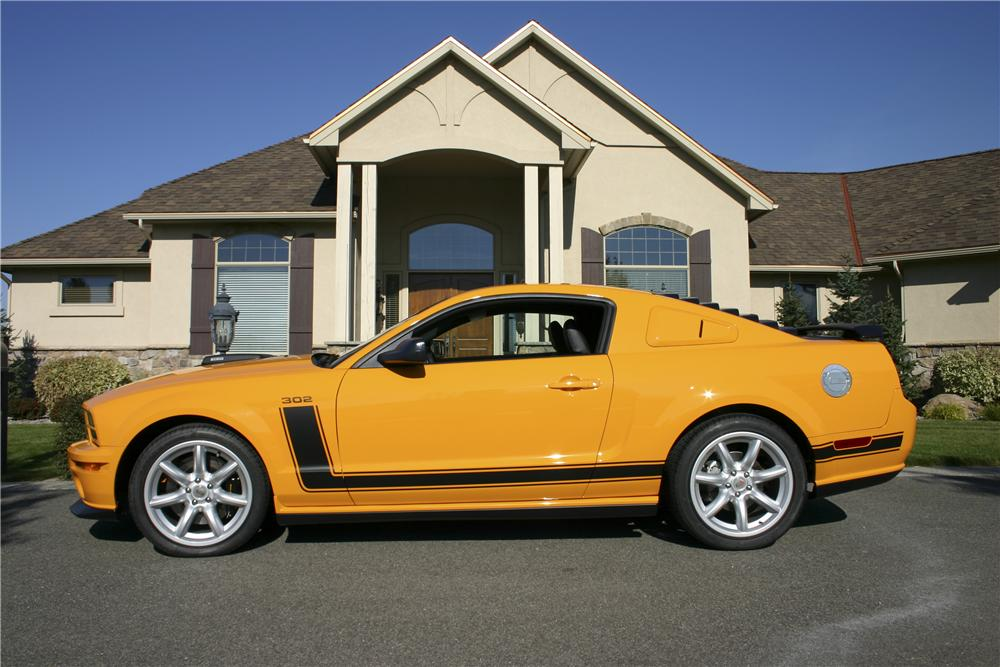 2007 FORD MUSTANG SALEEN PARNELLI JONES LIMITED EDITION - Side Profile - 96695