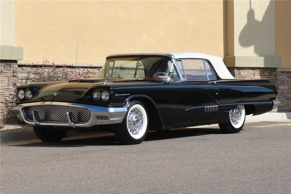 1958 Ford Thunderbird For Sale 1958 Ford Thunderbird 2 Door