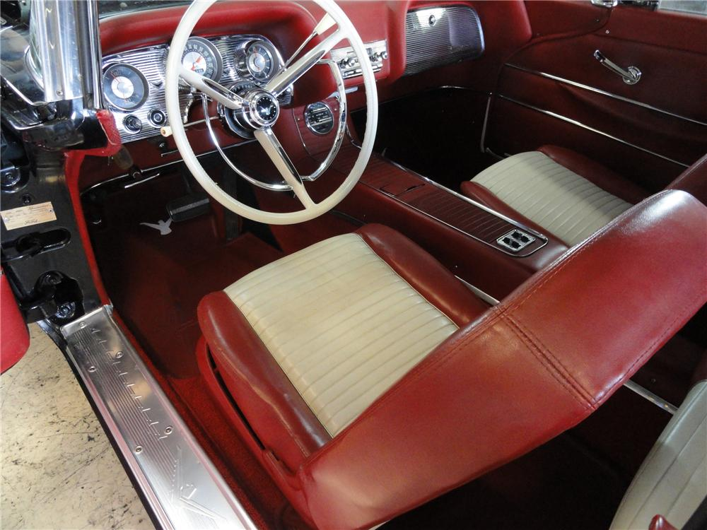 1958 FORD THUNDERBIRD 2 DOOR CONVERTIBLE - Interior - 96697