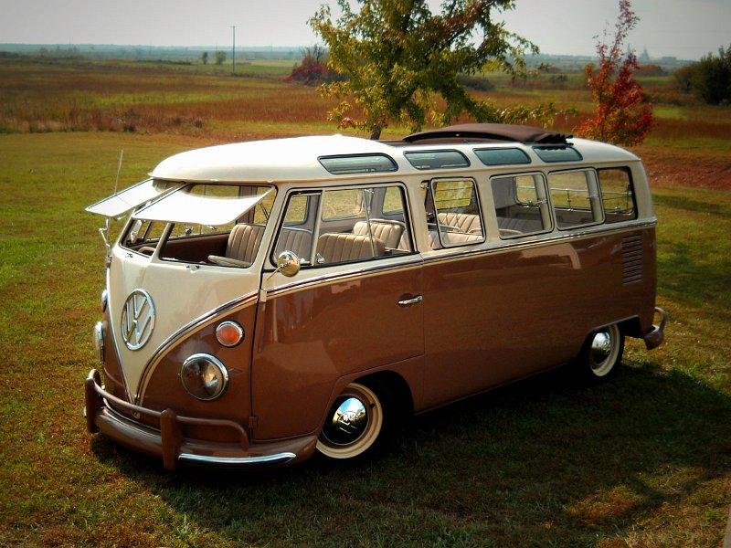 1965 volkswagen 21 window custom bus 96698