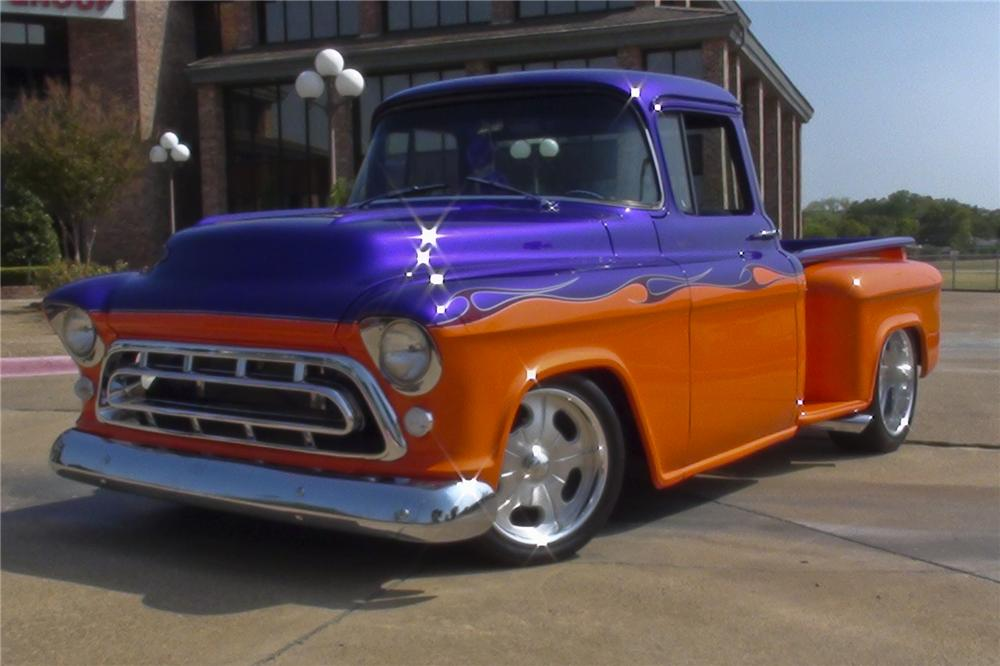 1955 CHEVROLET PICKUP - Front 3/4 - 96700