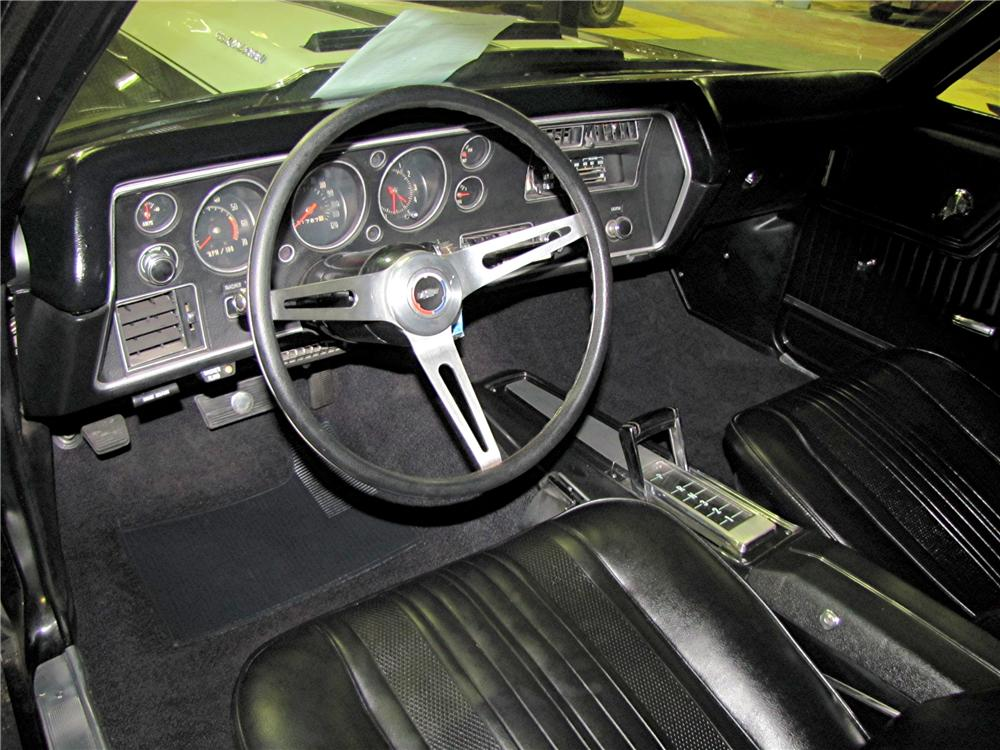 1970 CHEVROLET EL CAMINO PICKUP - Interior - 96702