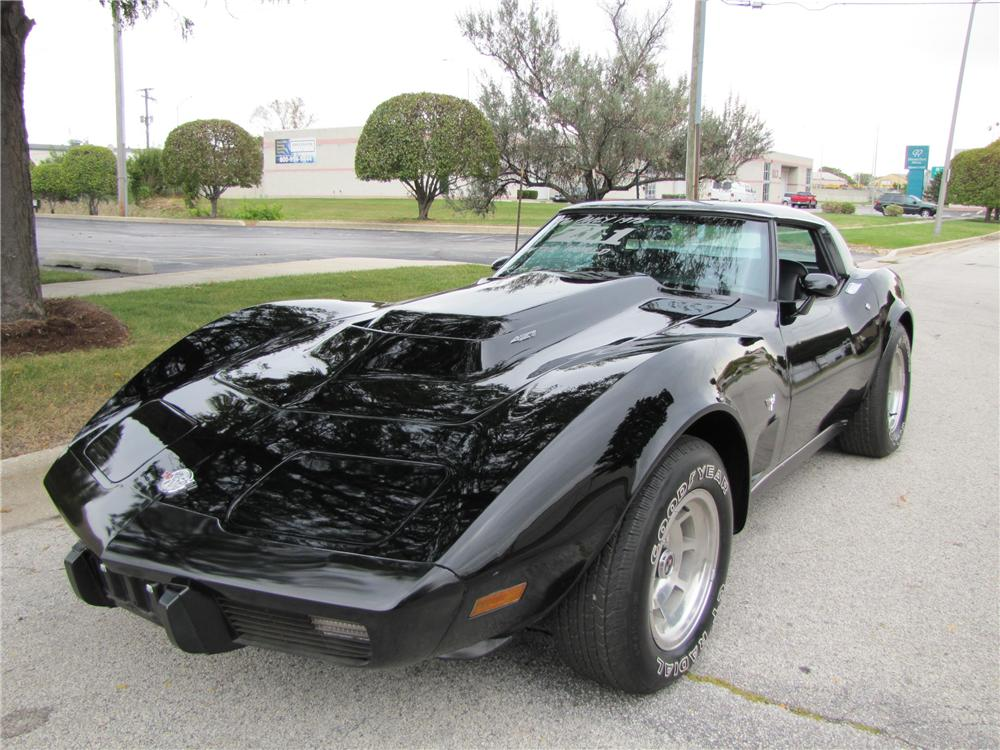 1978 CHEVROLET CORVETTE CUSTOM COUPE - Front 3/4 - 96703