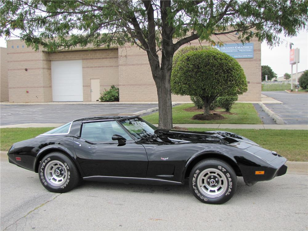 1978 CHEVROLET CORVETTE CUSTOM COUPE - Side Profile - 96703