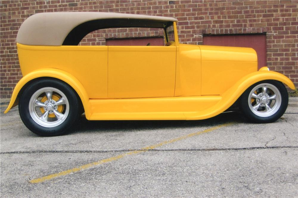 1929 FORD CUSTOM - Side Profile - 96713