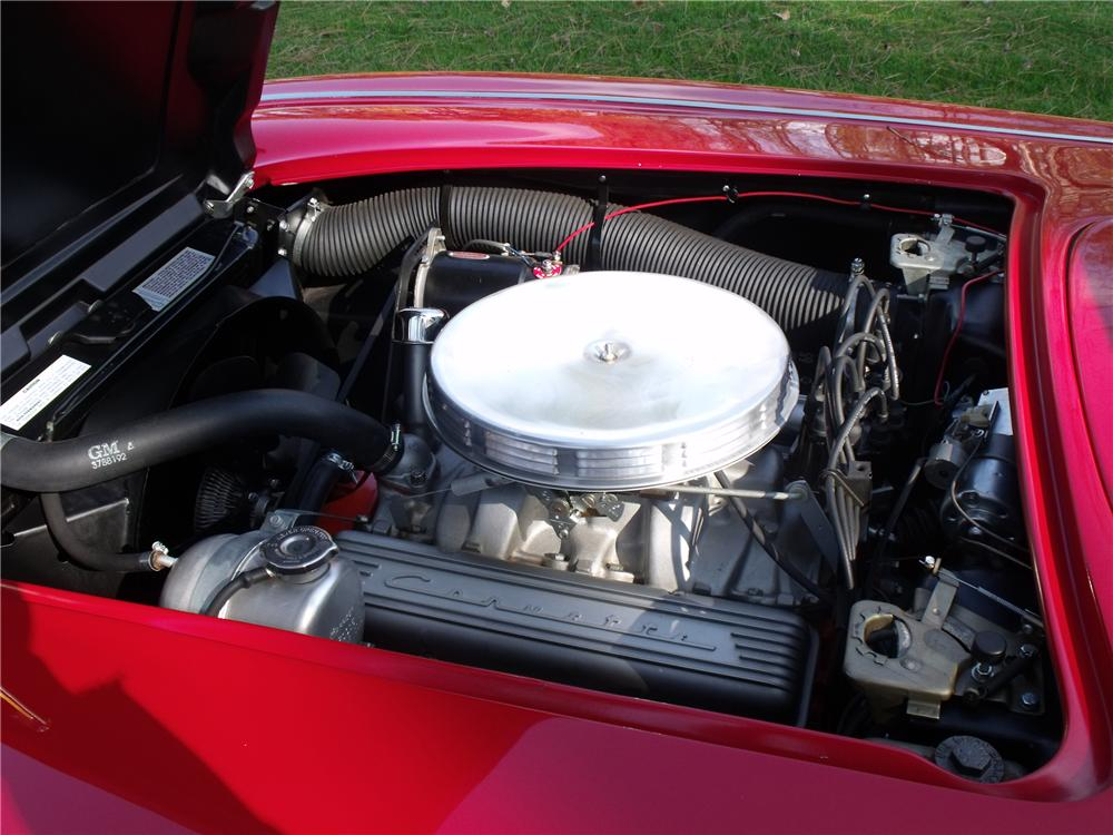1962 CHEVROLET CORVETTE CONVERTIBLE - Engine - 96717
