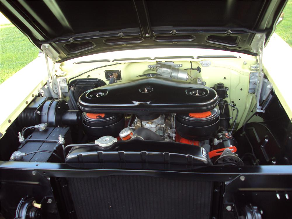 1957 CHEVROLET BEL AIR HARDTOP - Engine - 96718