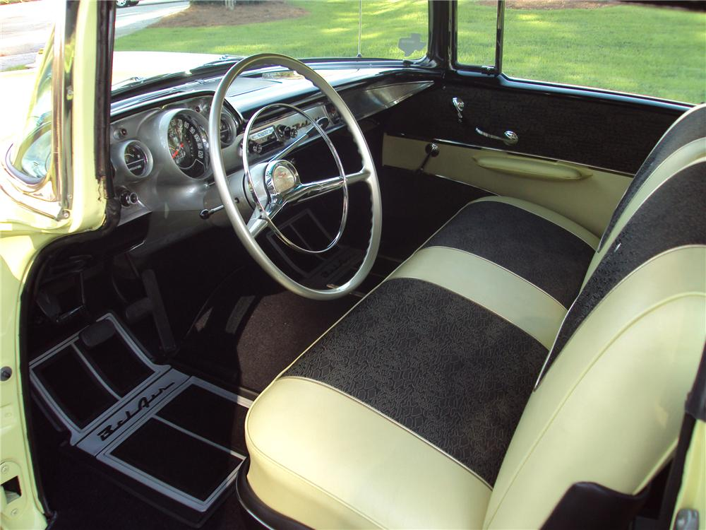 1957 CHEVROLET BEL AIR HARDTOP - Interior - 96718