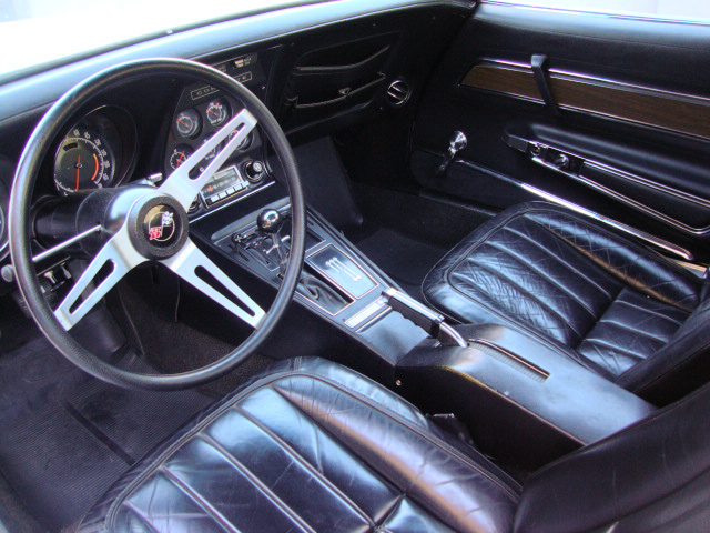 1972 CHEVROLET CORVETTE 2 DOOR COUPE - Interior - 96721