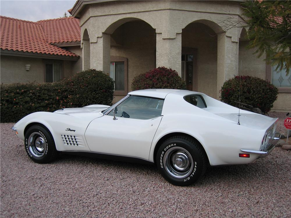 1972 CHEVROLET CORVETTE 2 DOOR COUPE - Side Profile - 96721
