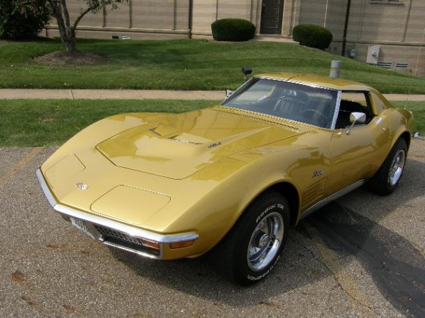 1971 CHEVROLET CORVETTE 2 DOOR COUPE - Front 3/4 - 96722