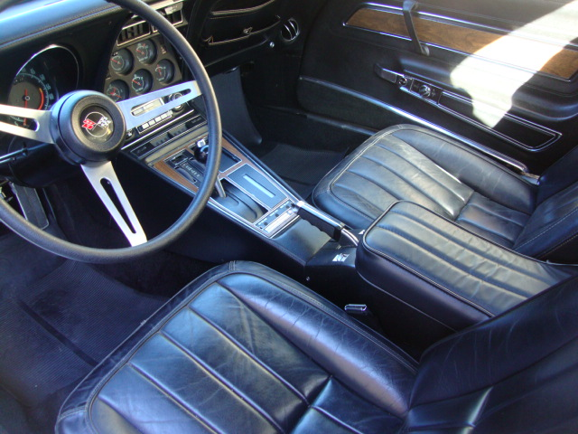 1971 CHEVROLET CORVETTE 2 DOOR COUPE - Interior - 96722