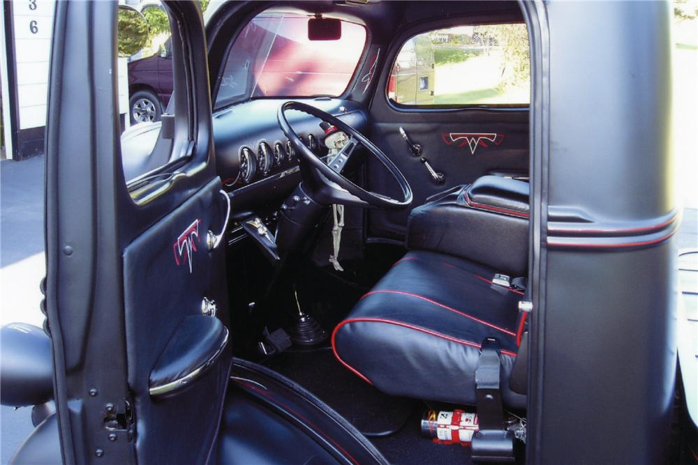 1941 FORD CUSTOM TRUCK - Interior - 96726