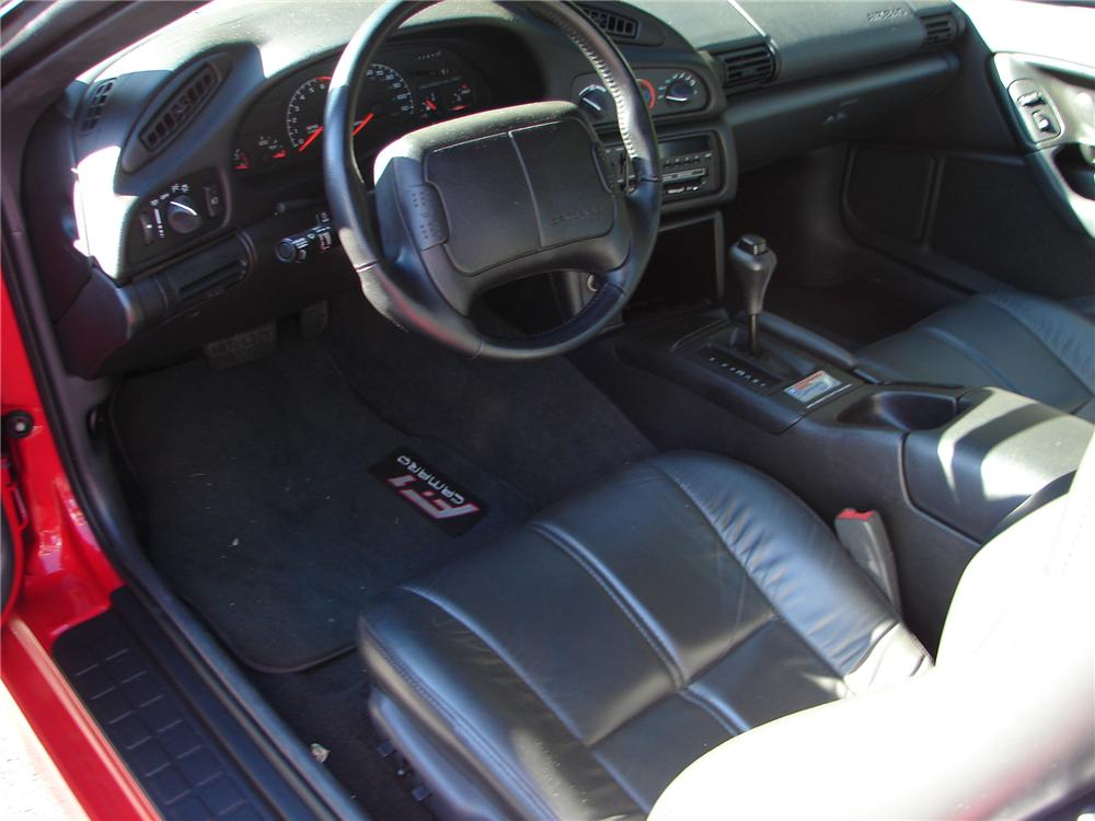 1995 CHEVROLET CAMARO RS F-1 FROM GM COLLECTION - Interior - 96728