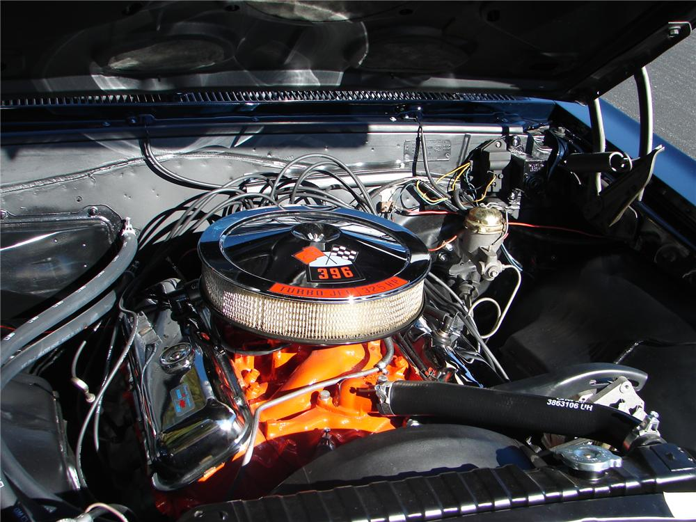 1966 CHEVROLET CHEVELLE SS 396 CONVERTIBLE - Engine - 96734