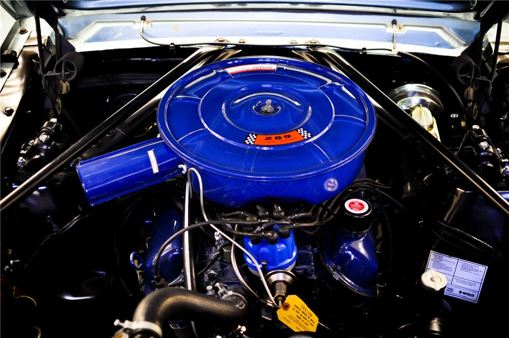 1966 FORD MUSTANG CONVERTIBLE - Engine - 96736