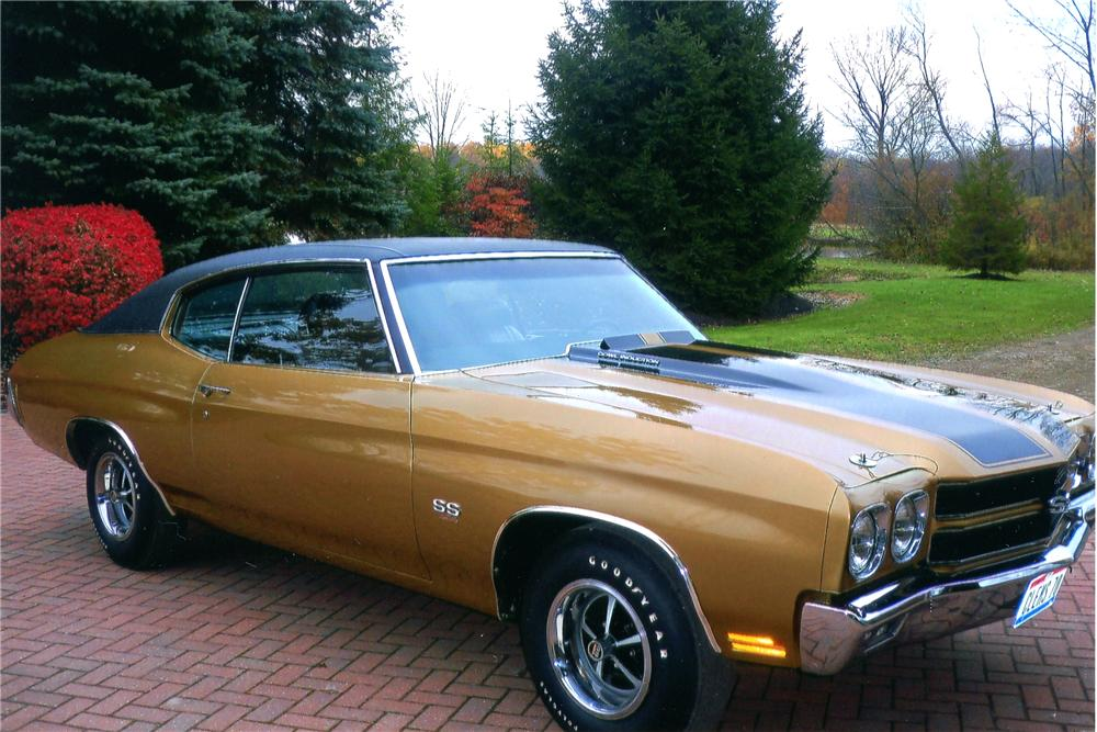 1970 CHEVROLET CHEVELLE 2 DOOR COUPE - Front 3/4 - 96738