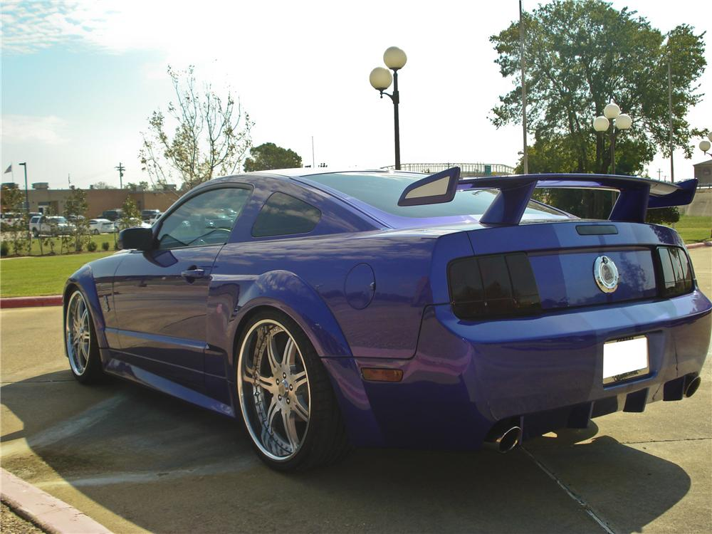 2005 SHELBY WEST COAST CUSTOMS MUSTANG COUPE - Rear 3/4 - 96743