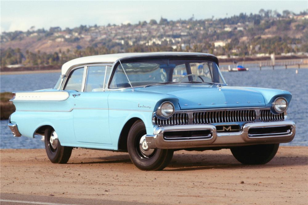 1957 mercury monterey 2 door sedan