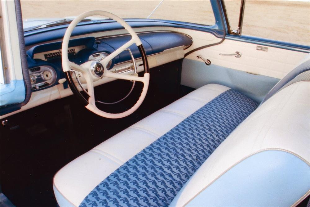 1957 MERCURY MONTEREY 2 DOOR SEDAN - Interior - 96749