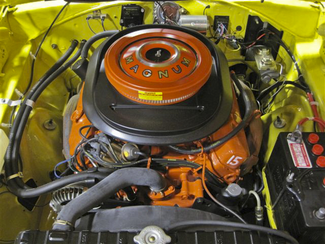 1970 DODGE CORONET R/T 2 DOOR - Engine - 96770