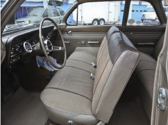 1961 CHEVROLET BEL AIR CUSTOM 2 DOOR SEDAN - Interior - 96779