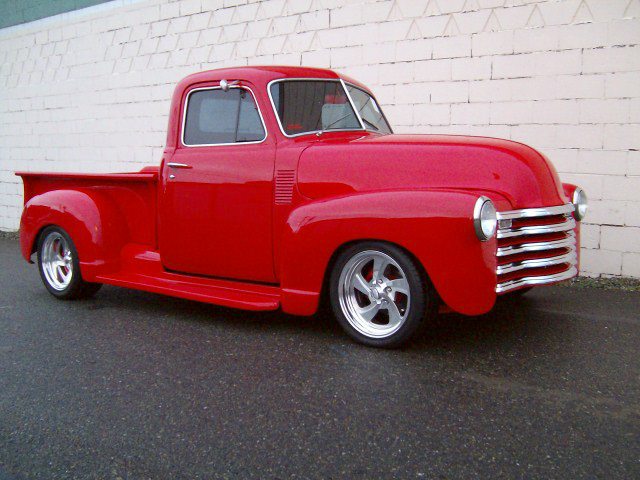 1947 CHEVROLET CUSTOM PICKUP - Front 3/4 - 96793