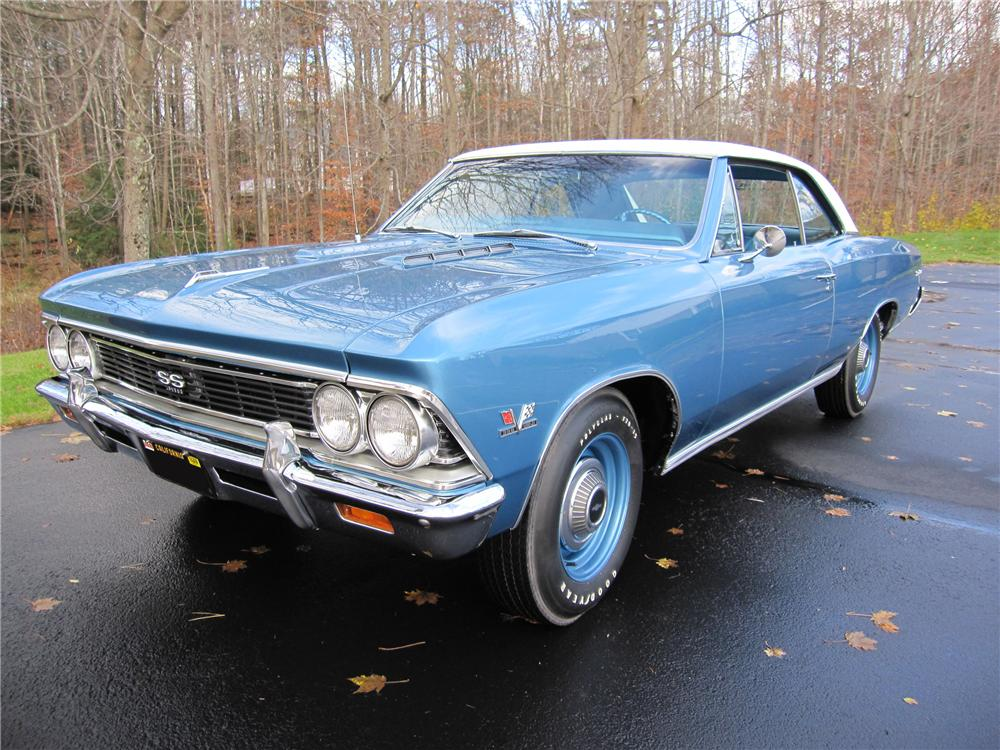 1966 CHEVROLET CHEVELLE SS 396 COUPE - Front 3/4 - 96797