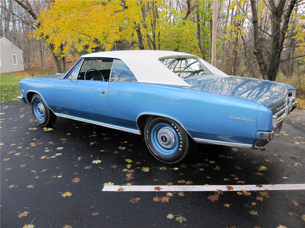 1966 CHEVROLET CHEVELLE SS 396 COUPE - Rear 3/4 - 96797