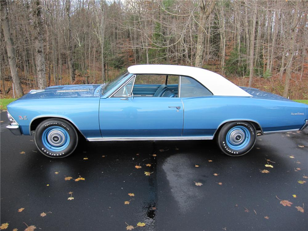 1966 CHEVROLET CHEVELLE SS 396 COUPE - Side Profile - 96797