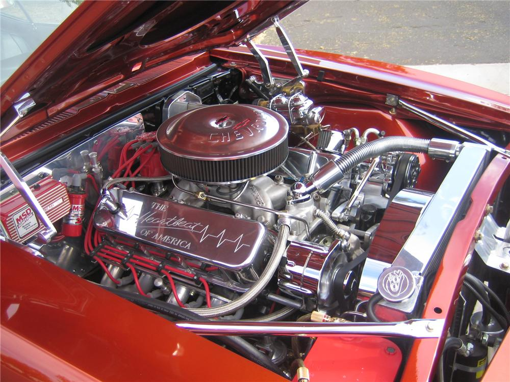 1968 CHEVROLET CAMARO CUSTOM COUPE - Engine - 96807