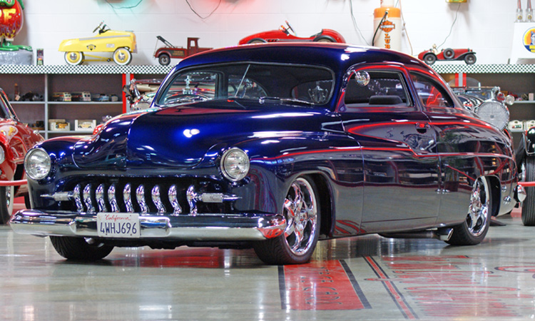 1950 MERCURY CUSTOM COUPE - Front 3/4 - 96808
