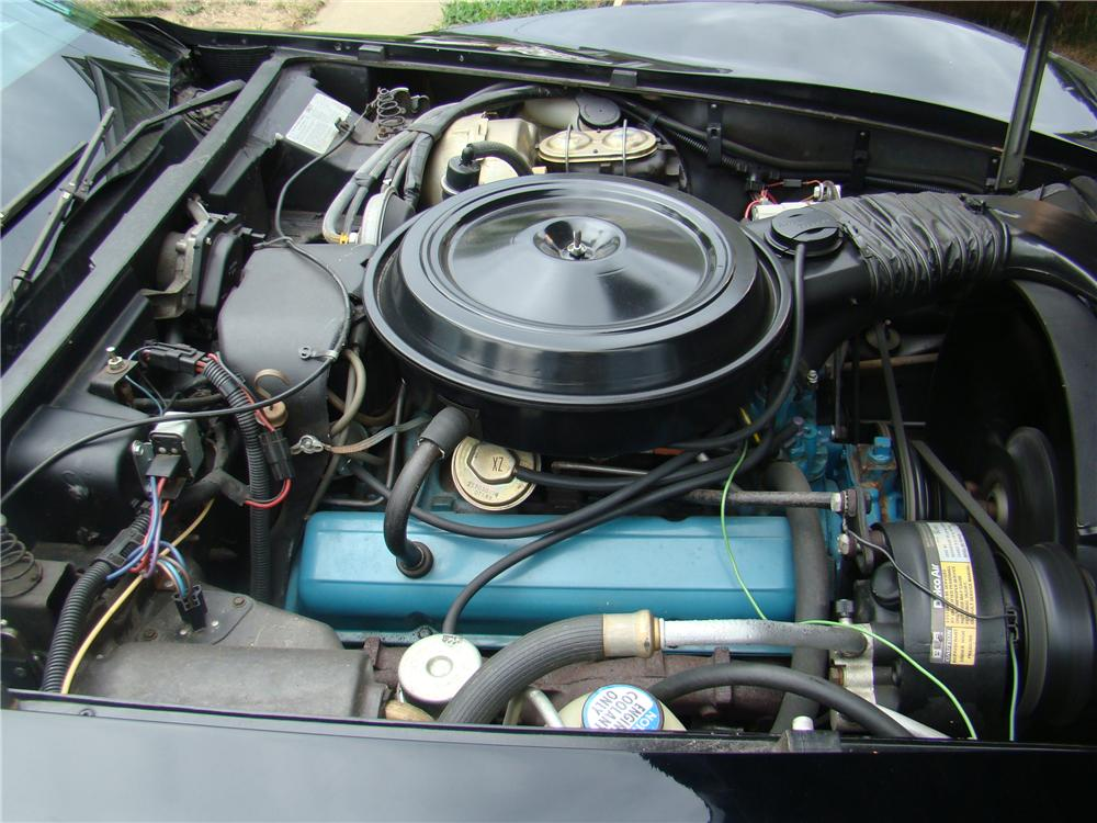 1978 CHEVROLET CORVETTE COUPE - Engine - 96809