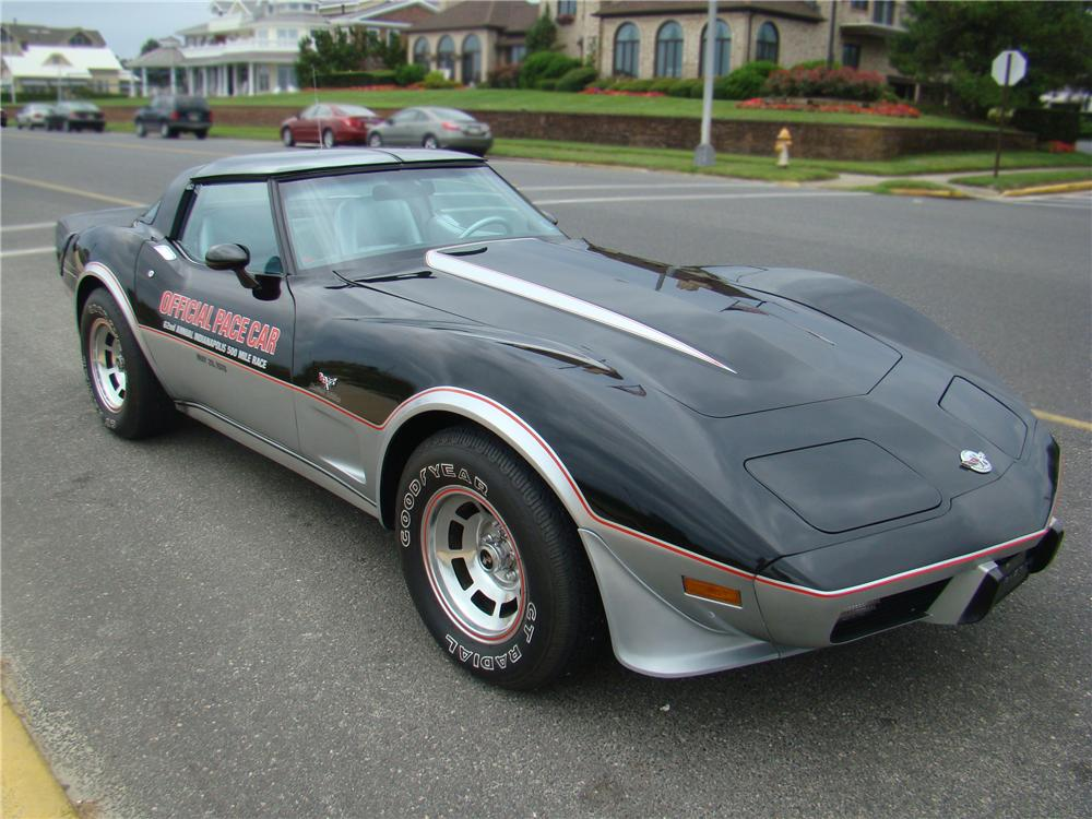 1978 CHEVROLET CORVETTE COUPE - Front 3/4 - 96809