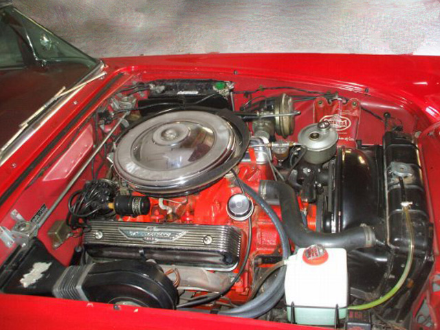 1957 FORD THUNDERBIRD CONVERTIBLE - Engine - 96813