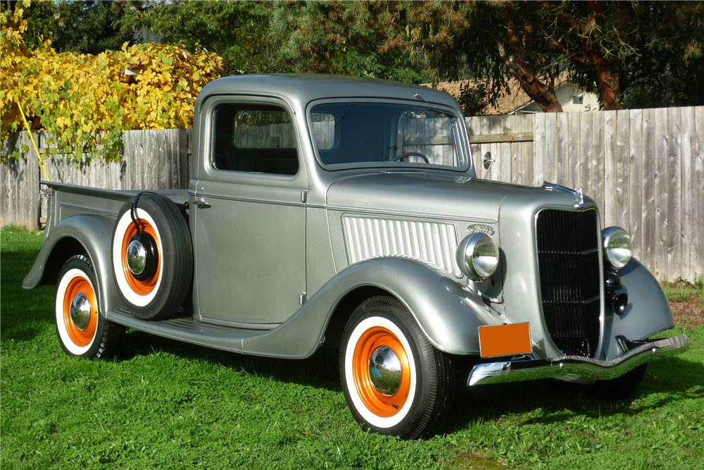 1936 FORD 1/2 TON PICKUP - Front 3/4 - 96833