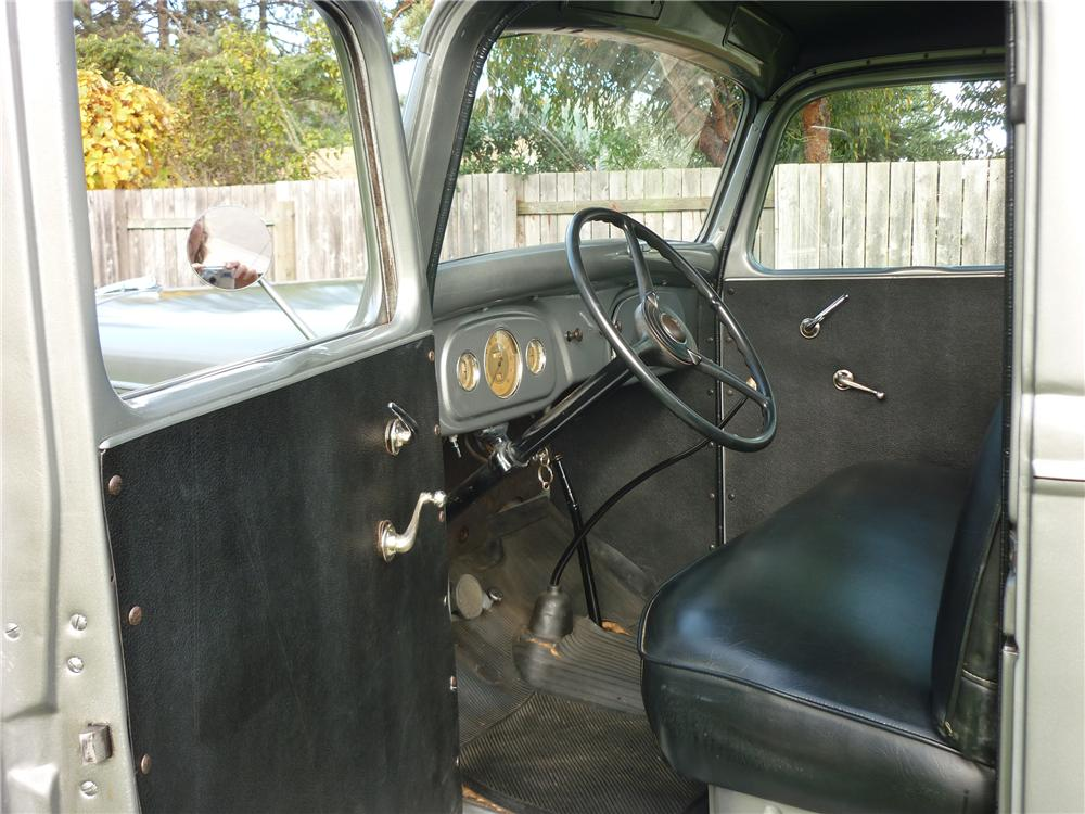 1936 FORD 1/2 TON PICKUP - Interior - 96833