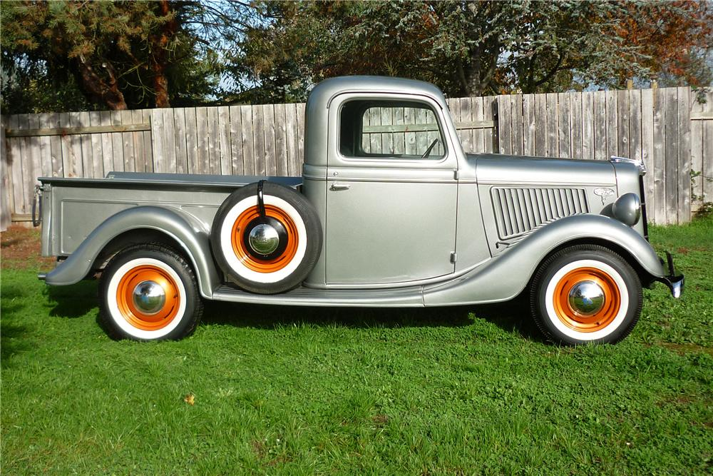 1936 FORD 1/2 TON PICKUP - Side Profile - 96833