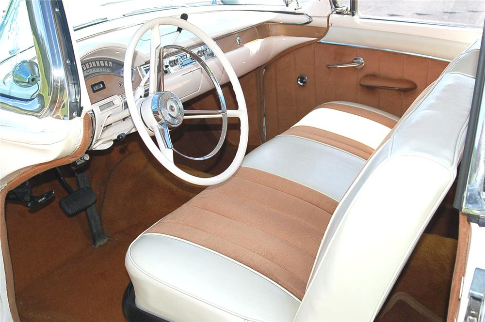 1957 FORD FAIRLANE CONVERTIBLE - Interior - 96846