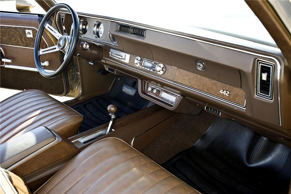 1970 OLDSMOBILE 442 CONVERTIBLE - Interior - 96850