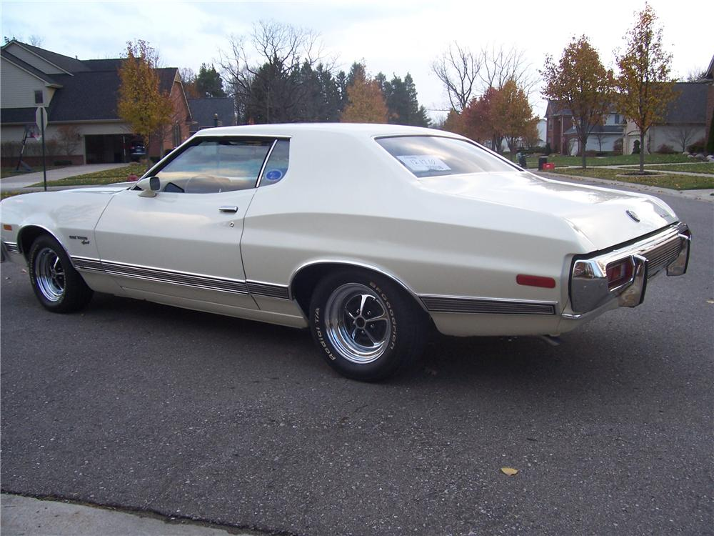 1973 FORD GRAN TORINO 2 DOOR HARDTOP - Rear 3/4 - 96860