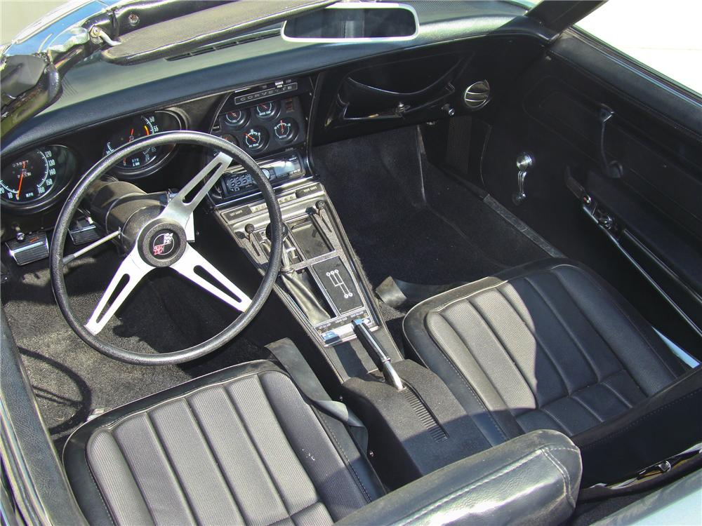1970 CHEVROLET CORVETTE CONVERTIBLE - Interior - 96870
