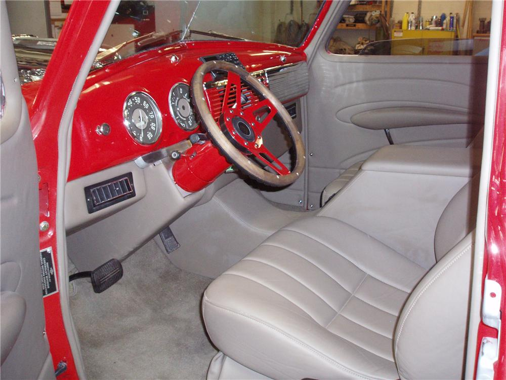 1951 CHEVROLET 3100 CUSTOM PICKUP - Interior - 96872