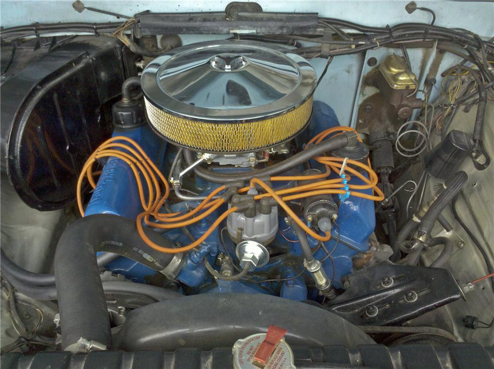 1974 FORD F-250 PICKUP - Engine - 96876