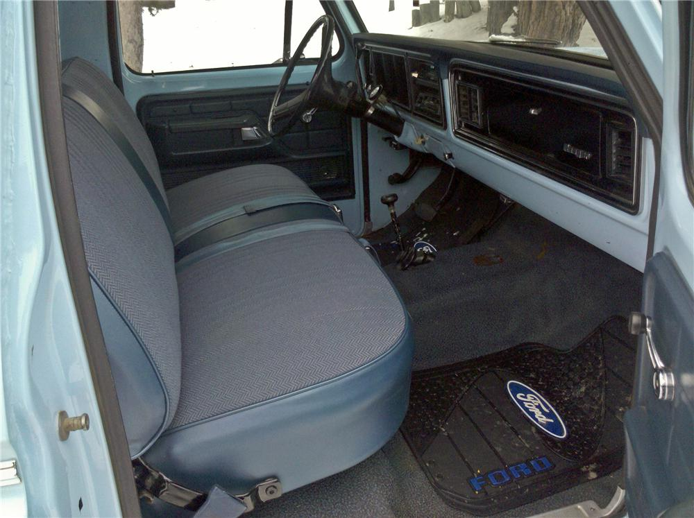 1974 FORD F-250 PICKUP - Interior - 96876