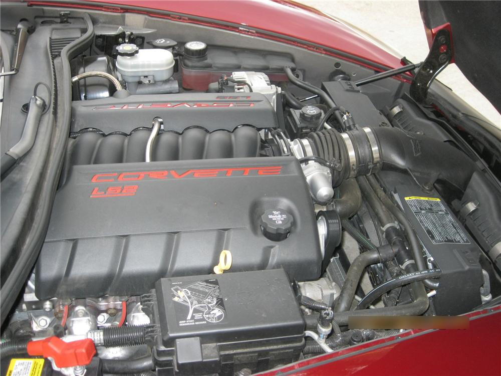 2007 CHEVROLET CORVETTE CUSTOM COUPE - Engine - 96877