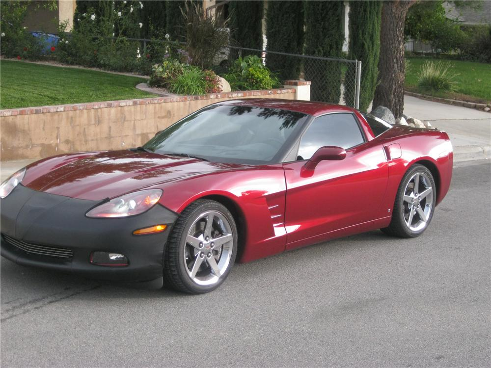 2007 chevrolet corvette custom coupe 96877. Black Bedroom Furniture Sets. Home Design Ideas