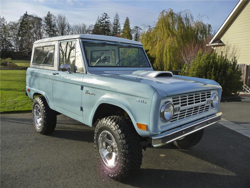 1968 FORD BRONCO CUSTOM 4X4 - Front 3/4 - 96883
