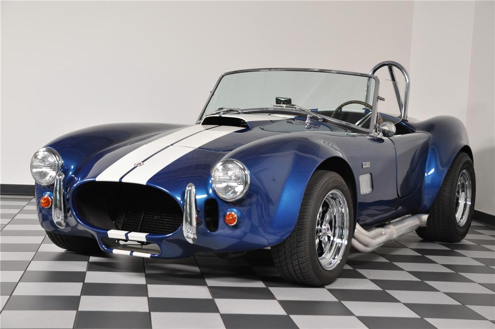 1966 SHELBY COBRA RE-CREATION ROADSTER - Front 3/4 - 96888