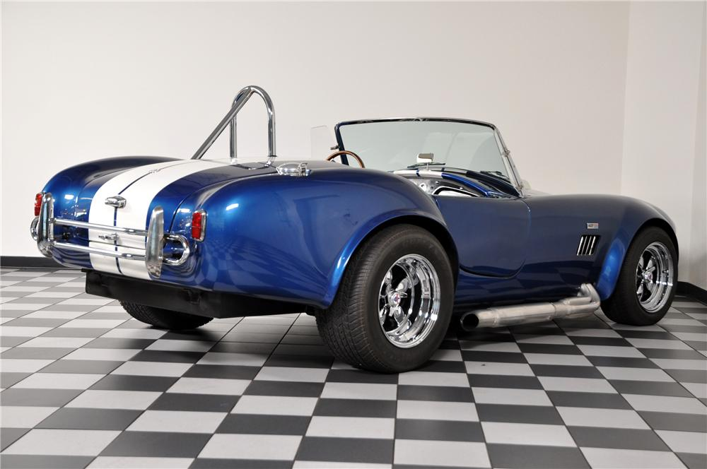 1966 SHELBY COBRA RE-CREATION ROADSTER - Rear 3/4 - 96888